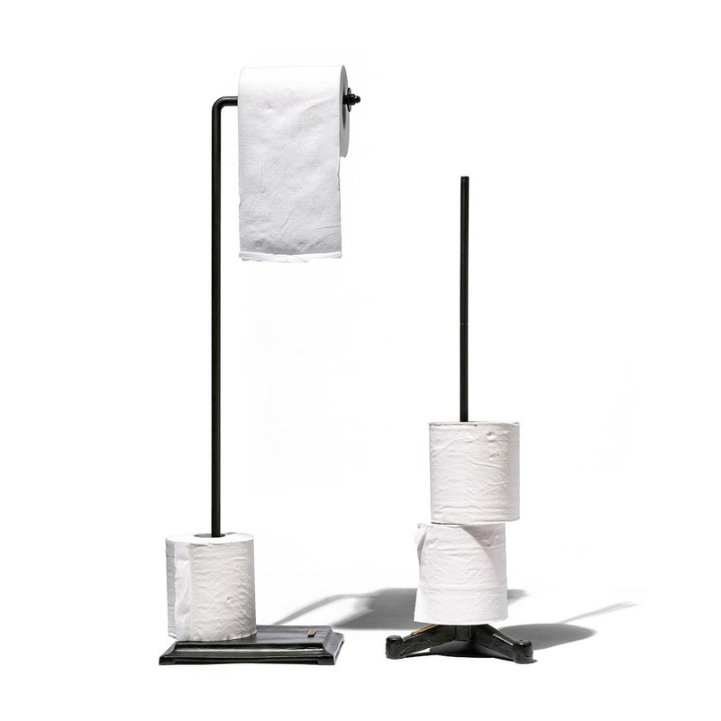 TOILET PAPER HOLDER Black