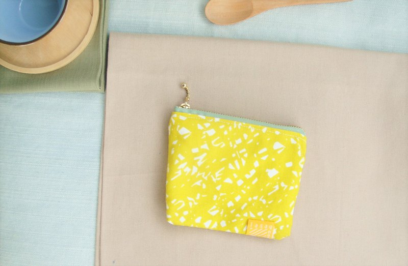 Mustard messy yellow series I limited edition small meal bag purse
