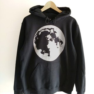 Super Moon-Black Unisex Hoodies Sweatshirt Planet,Earth Satelite,Moon Phase