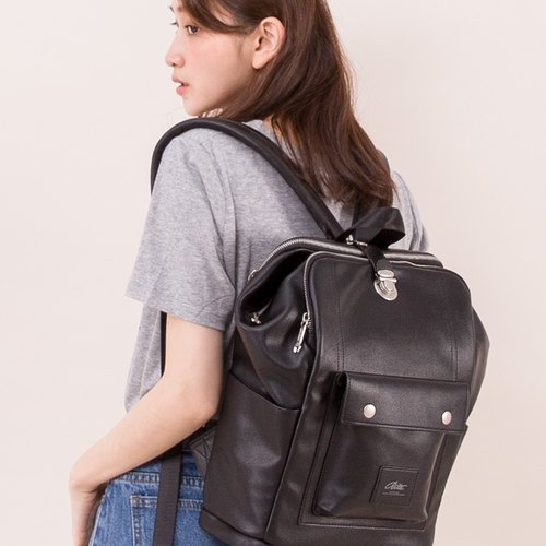 2018 Twin Series - Lion Pack - Leather Black / Traceless Replica Daughter Bag