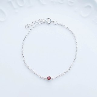 Big staff Taipa [handmade silver] color diamond × fine bracelet sterling silver handmade temperament bracelet