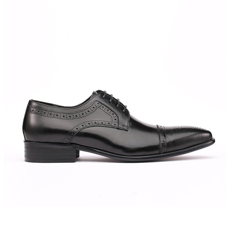 Kings Collection Genuine Leather Truman Oxford Shoes KV80056 Black