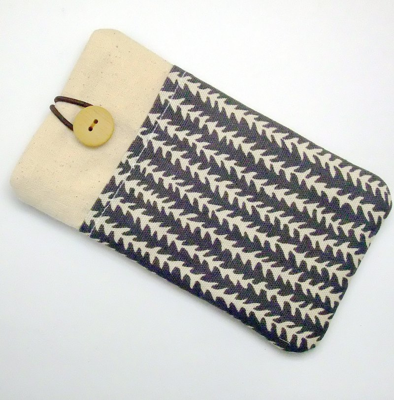 iPhone sleeve, Samsung Galaxy Note 8 case, cell phone pouch, iPod sleeve (P-250)