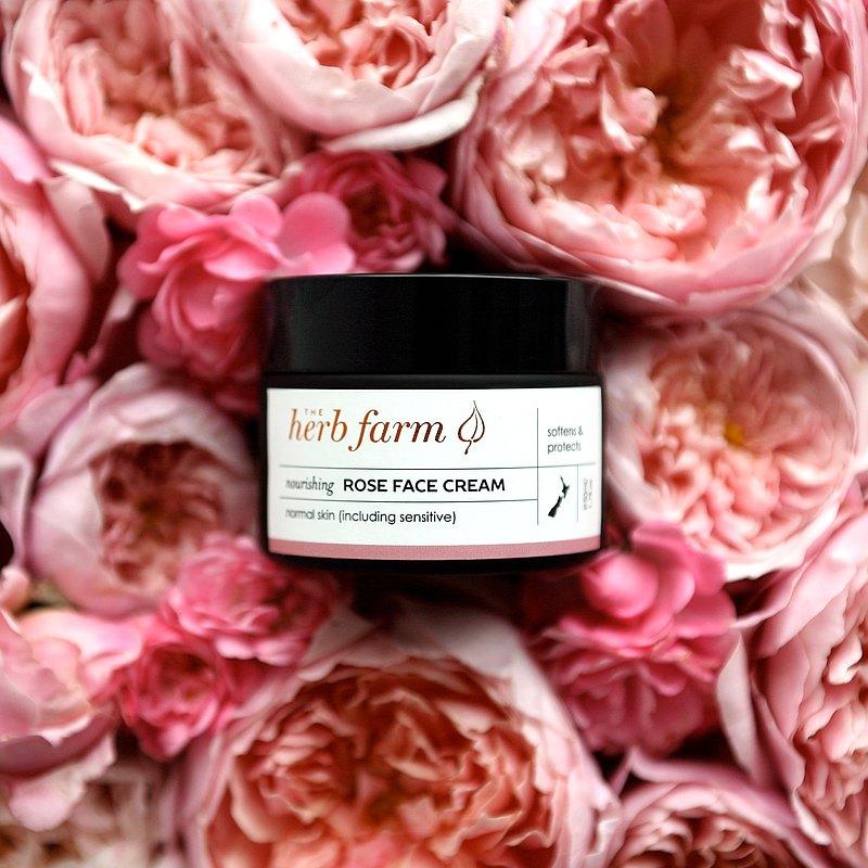 Herb Farm 玫瑰水潤保濕霜