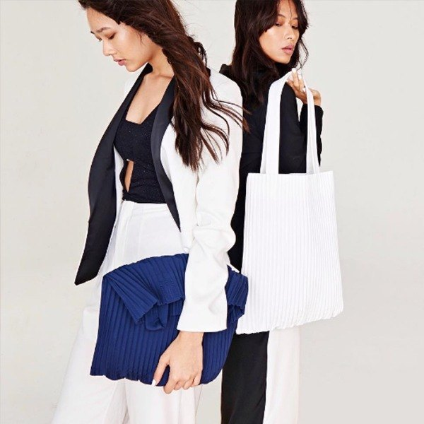 aPulp Tote Bag in Navy Blue