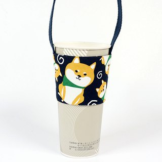 Drink Cup Set Green Cup Set Bag - Shiba Inu