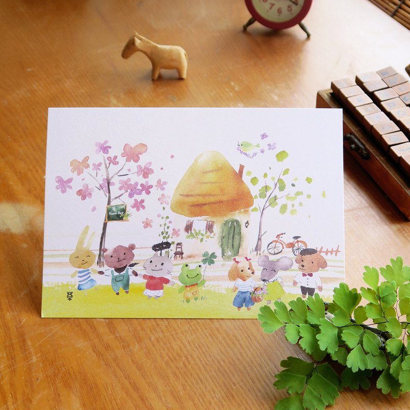 When we are together postcard