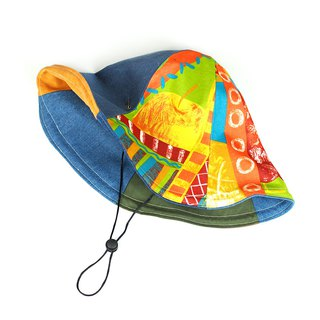 Mavericks Village hats hats fruit colorful [Modern fruit 漾] HB-17 limited ancient cloth