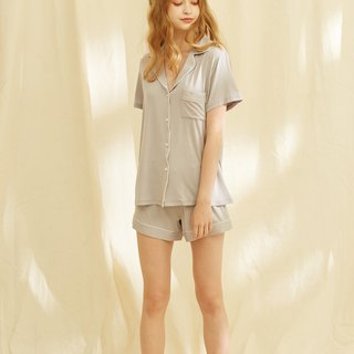 Modal Two-Piece Pajamas/Grey