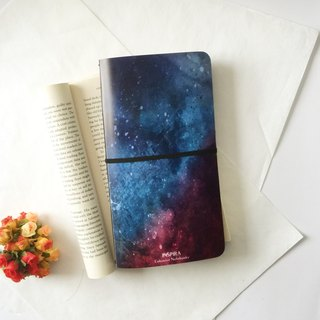 Custom 桠 crystal surface notebook notebook (custom printing) (Figure Style: Inspira Stardust)