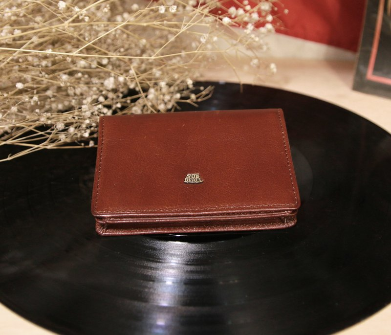 Back to Green:: SOB DEALL MADE IN ITALY vintage wallet ( WT-05 )