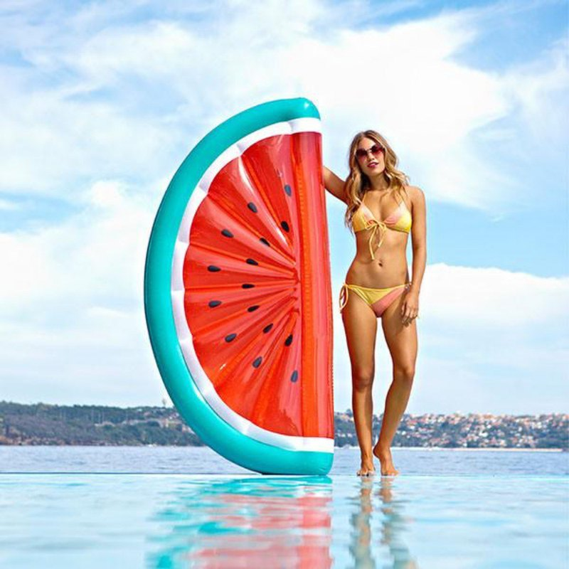 SUNNYLIFE Watermelon Model Luxury Floating Board