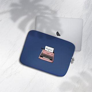 Retro typewriter, Laptop Sleeve 15 Inch, Macbook Air 11 Inch Case, Macbook Pro 1