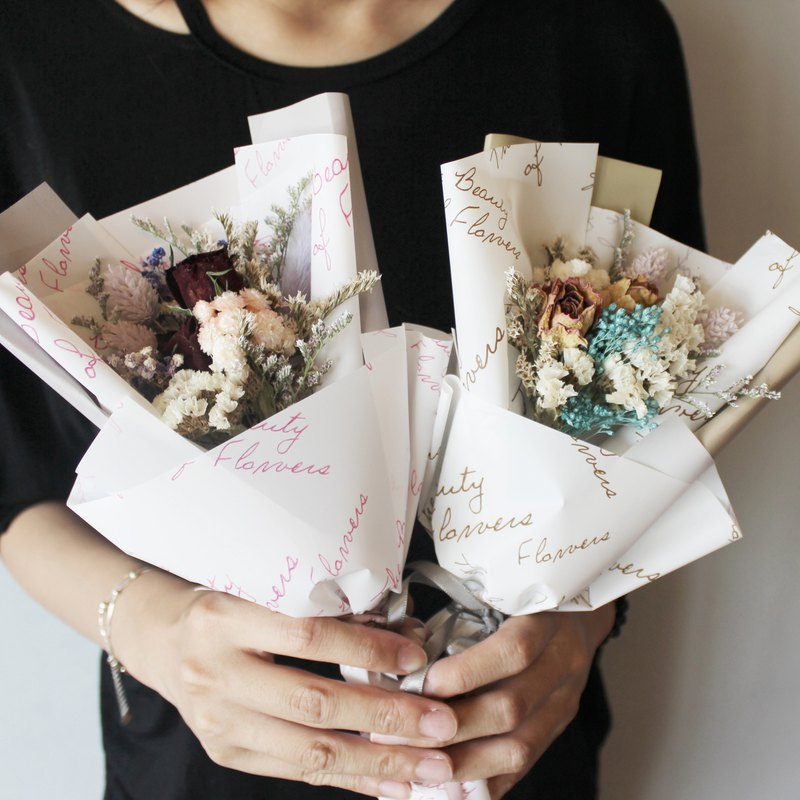 - dry bouquet of roses - dry flowers dry bouquet graduation bouquet