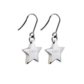 Lucky Star Lucky Star Pure Titanium Earrings A pair