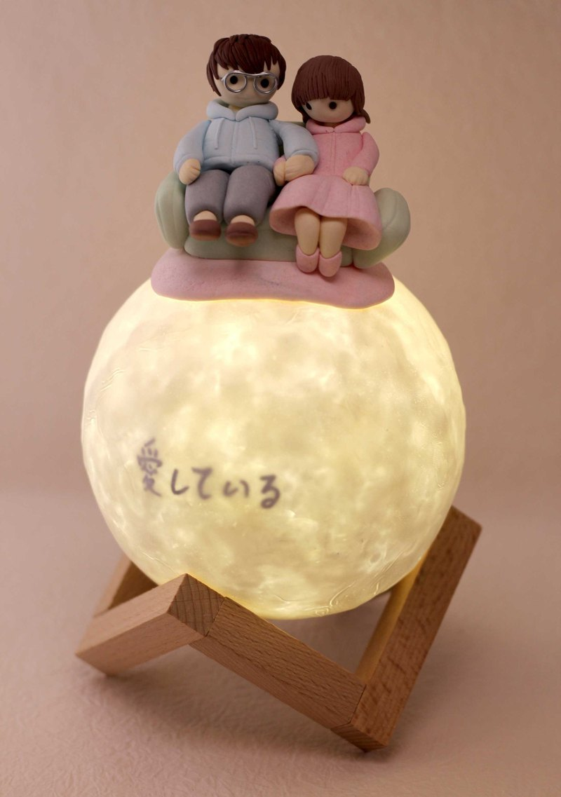 Custom portrait Bluetooth audio planet story light, a permanent Valentine's Day gift.