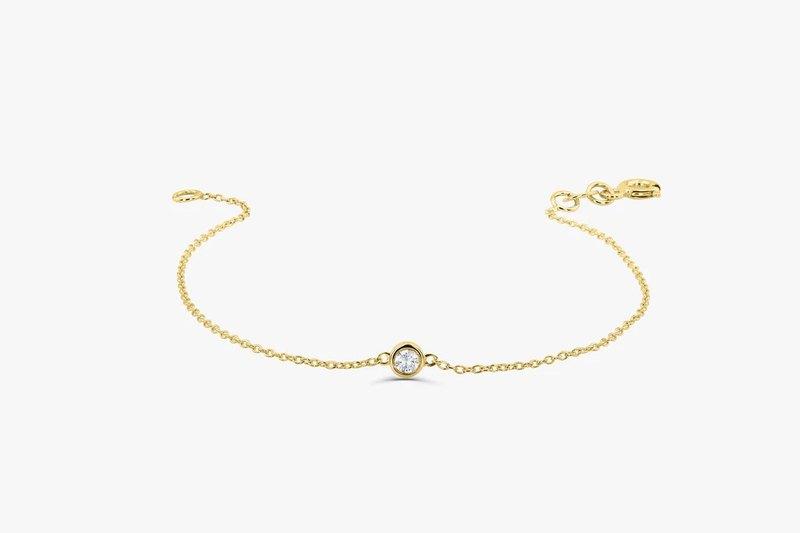 Bowrington Concept | 925純銀莫桑石3份5份手鍊珠寶訂製設計