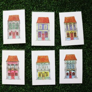 Penang Heritage House Postcard Set of 6 (Prints)