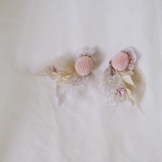 Yes,I do | Dry Flower Ear Pin