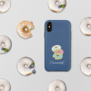 Love donuts leather i phone case for i7,i7plus,i8,i8plus,iX