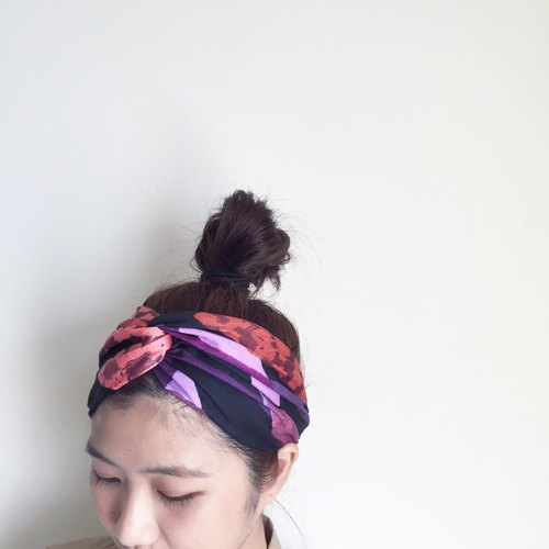 梅菲瑟芬兰 Series Elastic Wide / handmade hair band