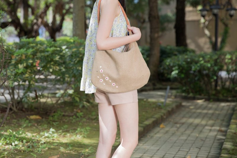 Classic shoulder KK Jute Bag