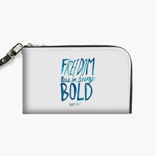 Snupped Isotope - Phone Pouch - Freedom Bold