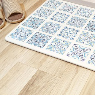 [MBM] fascination fantasy water tile washed algae land mat foot pad
