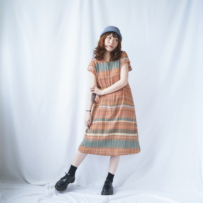 Vintage Checked Dress