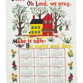 2004 American Early Cloth Calendar Lovely Manor