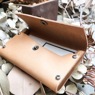 Teak card case-cardcase-original skin color
