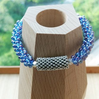 Crystal Blue Bubble Belle Bracelet