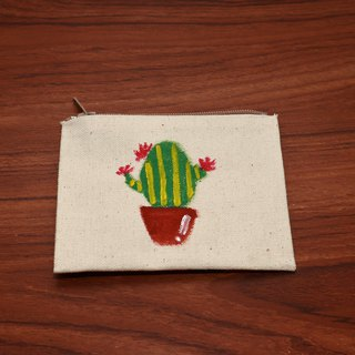 (DUO & Lele joint limited edition products) Fresh small potted plants # 2 Coin purse (limited edition)