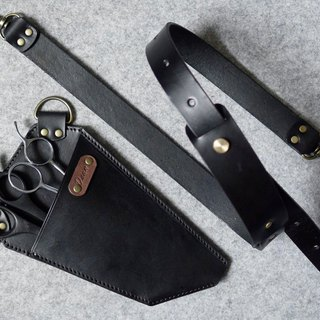 YOURS Lightweight Leather Scissors Tool Bag Can Be Worn OR Back Wear Dual Function