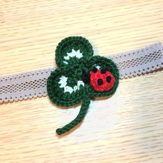 Baby Gift – Clover with ladybird head band for baby girl