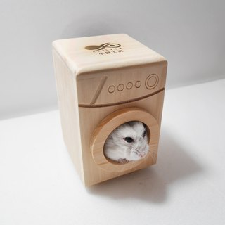 Creative [drum mouse] Rodent mouse mouse hamster supplies hamster washing machine bathroom pet wood