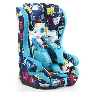 英國 Cosatto Hubbub Group 123 Isofix 汽車安全座椅 – Cuddle Monster 2 (5 point plus)