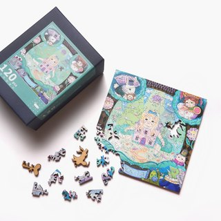120P Wooden Puzzle _ Ask Alice