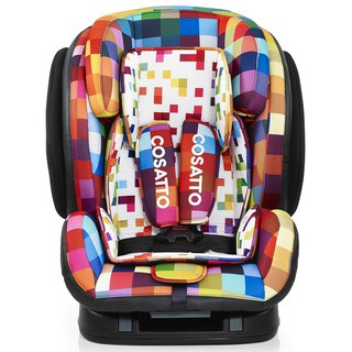 英國 Cosatto Hug Group 123 Isofix 汽車安全座椅 – Pixelate