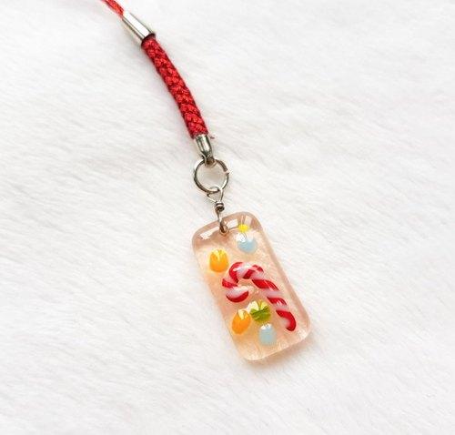 婚禮週邊-聖誕限定B-拐杖糖吊飾