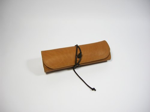 ● sushi rolls rolled leather pencil case __ for zuo zuo handmade pencil case tool bag roll pen bag graduation gift Lei carving as a gift gift