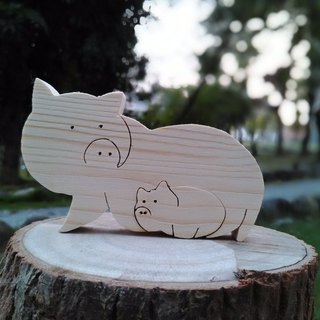 Animal Puzzle (paternity pig)
