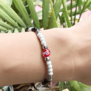 Make a wish wishing bracelet / multicolor
