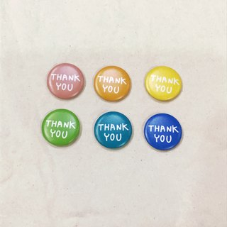 Magnet | Thank You (three colors to choose from)