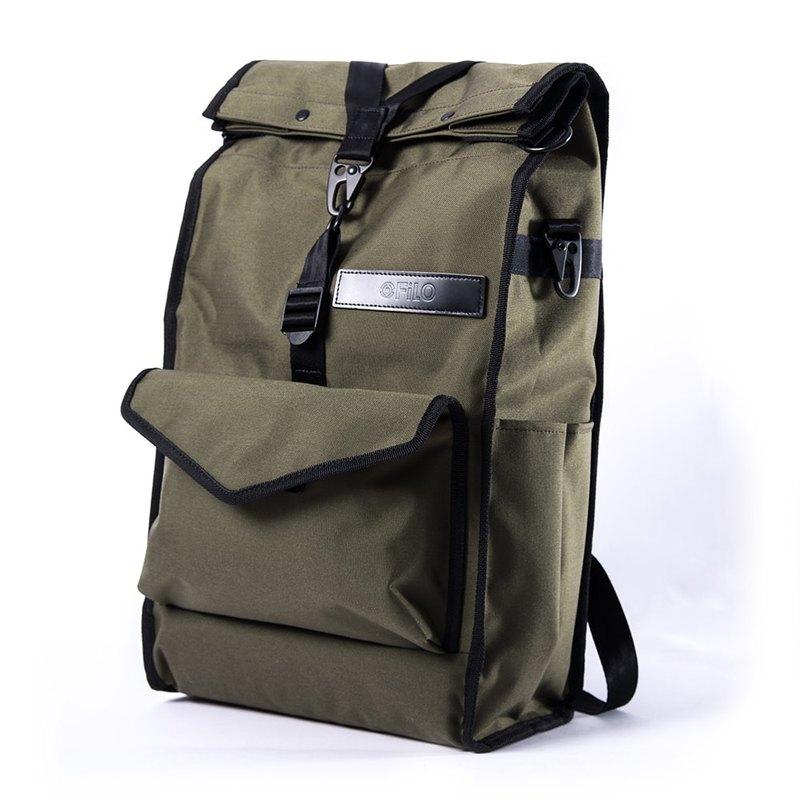 日行 橄欖綠 後背包