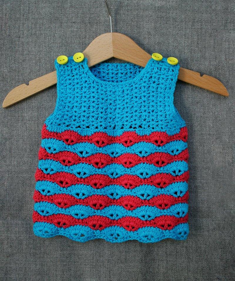 Organic cotton baby dress d886b1438a5e
