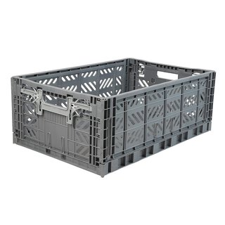 Turkey Aykasa folding basket (L) - shark gray