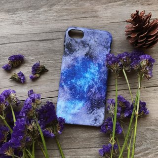 Blue Purple Galaxy. Matte Case( iPhone, HTC, Samsung, Sony, LG, OPPO)