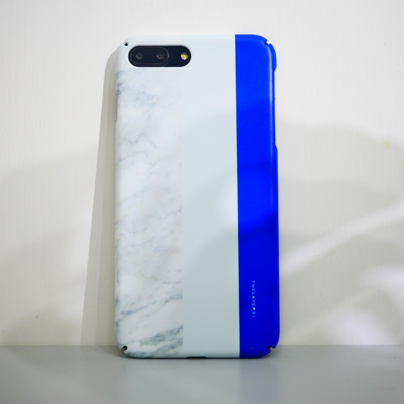 GRAPHIC PRINT - OCEAN MARBLE MATTE iPhone Case