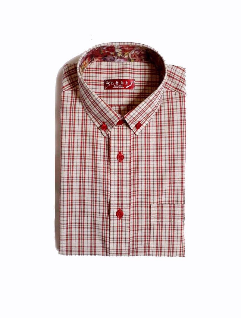 藝術家系列 格紋 手工襯衫 Shirt